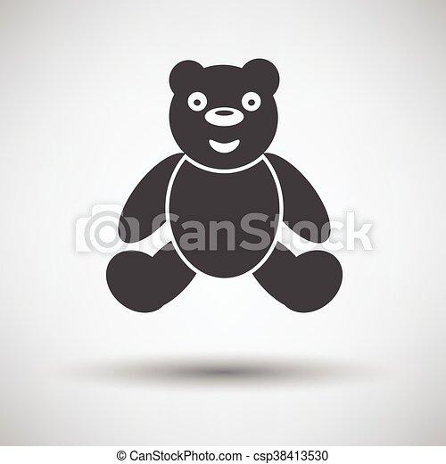 Teddy bear icon - csp38413530