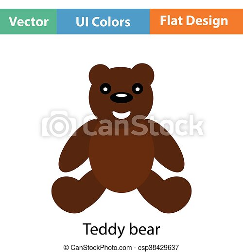 Teddy bear icon - csp38429637