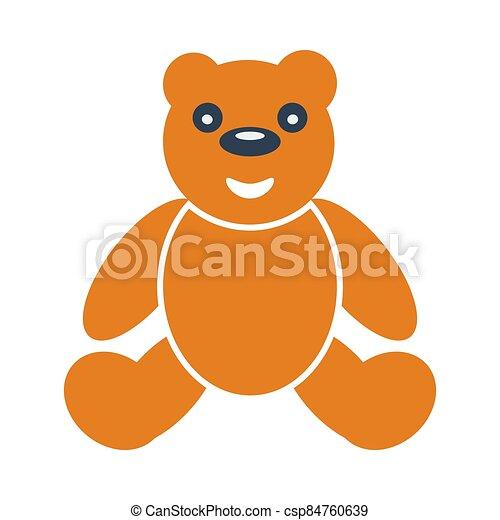 Teddy Bear Icon - csp84760639