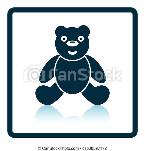 Teddy bear icon - csp38597172