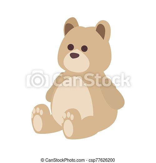 teddy bear icon - csp77626200