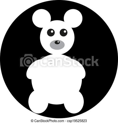 teddy bear - csp19525823