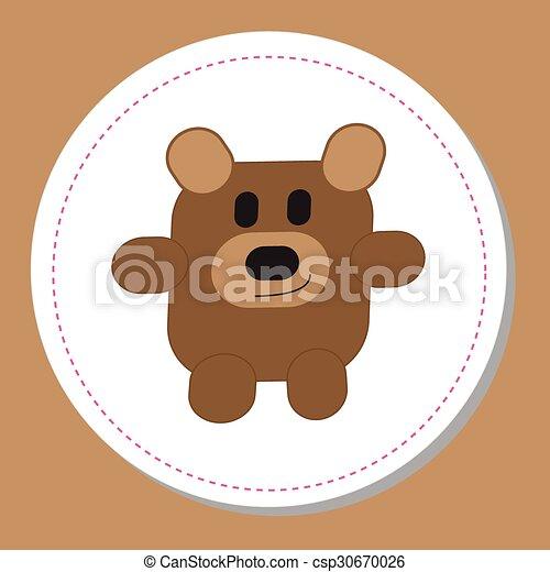 Teddy Bear - csp30670026