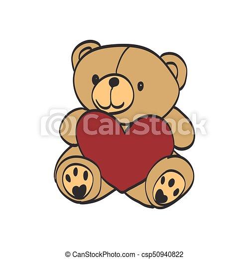Teddy bear - csp50940822