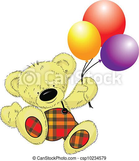 teddy bear - csp10234579