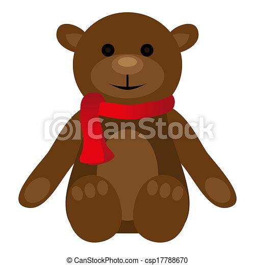teddy bear - csp17788670