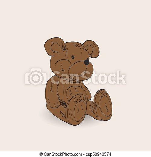 Teddy bear - csp50940574