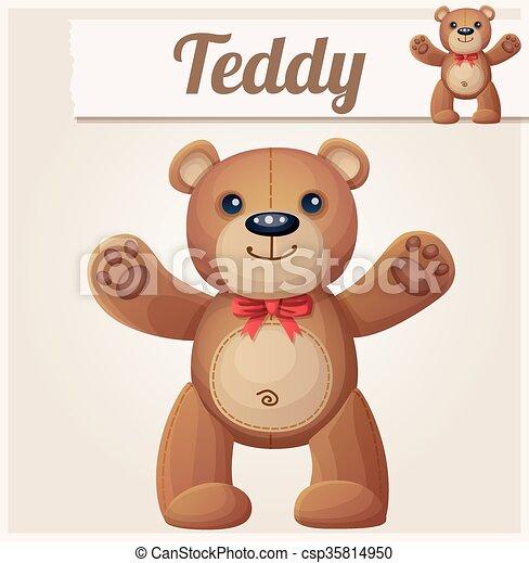 Teddy bear love hugs - csp35814950