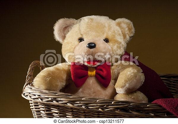 teddy bear - csp13211577