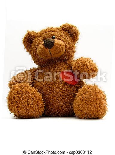 teddy bear - csp0308112