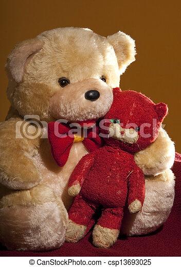 teddy bear - csp13693025