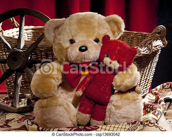 teddy bear - csp13693042