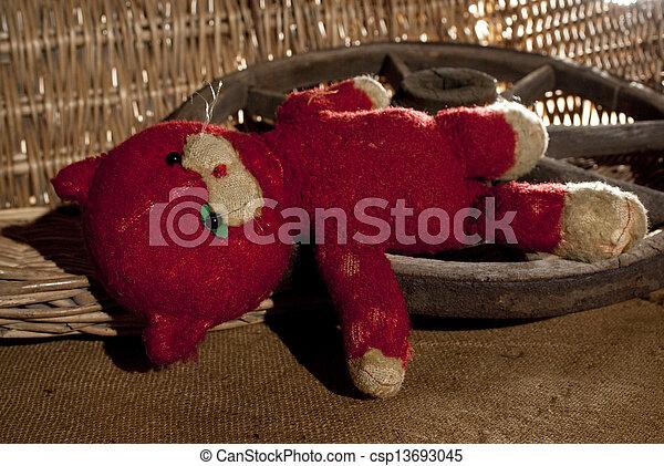 teddy bear - csp13693045