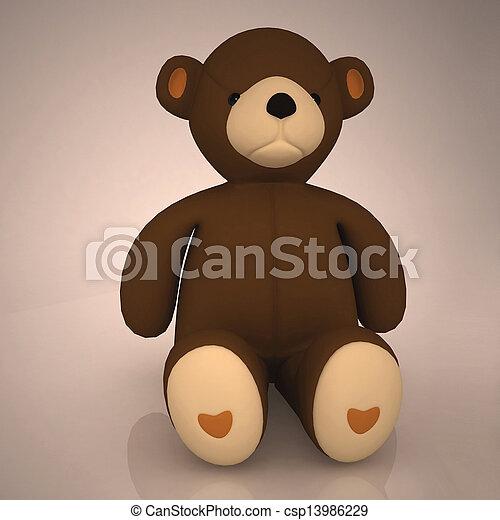 Teddy Bear - csp13986229