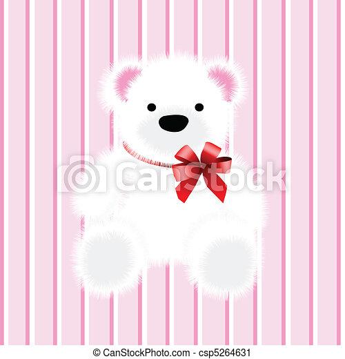 teddy bear, toy - csp5264631