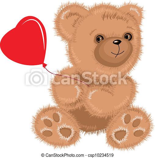teddy bear - csp10234519