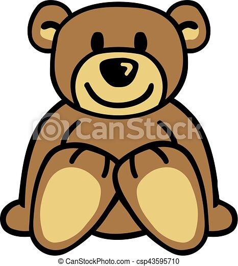 Teddy bear - csp43595710
