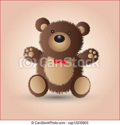 Teddy bear - csp12235903