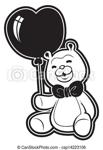 teddy bear - csp14223106