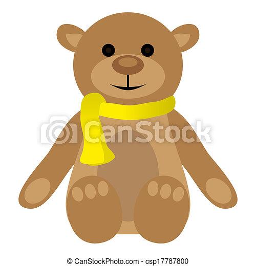 teddy bear - csp17787800
