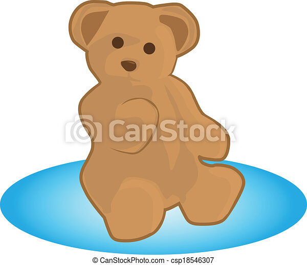teddy bear - csp18546307