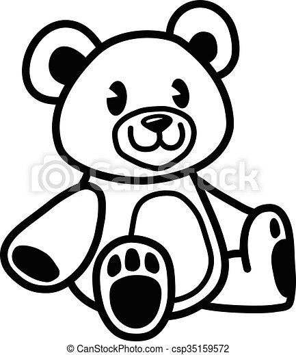 teddy bear vector icon rh canstockphoto com teddy bear vector free download teddy bear vector free