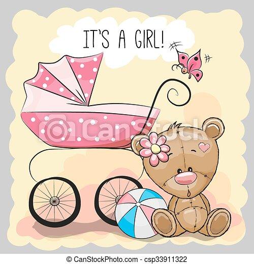 It/'s a Girl Teddy Bear