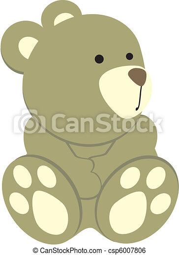teddy bear3 - csp6007806
