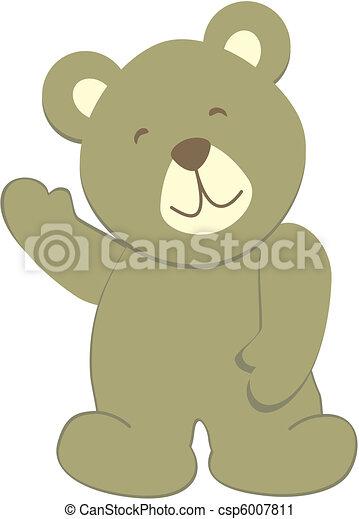 teddy bear8 - csp6007811