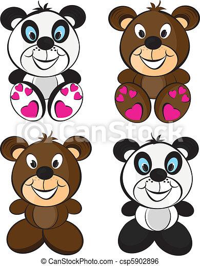 Teddy bears - csp5902896