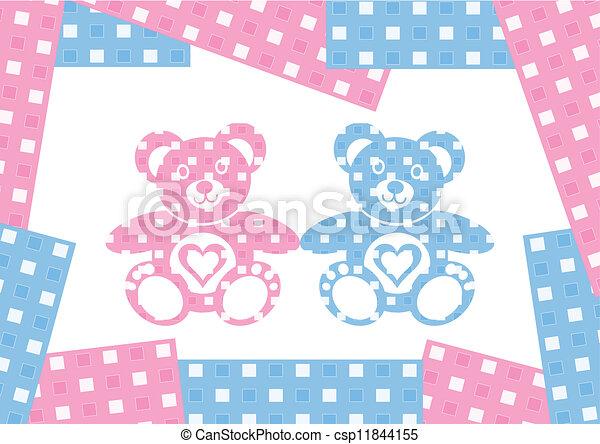 Teddy bears - csp11844155