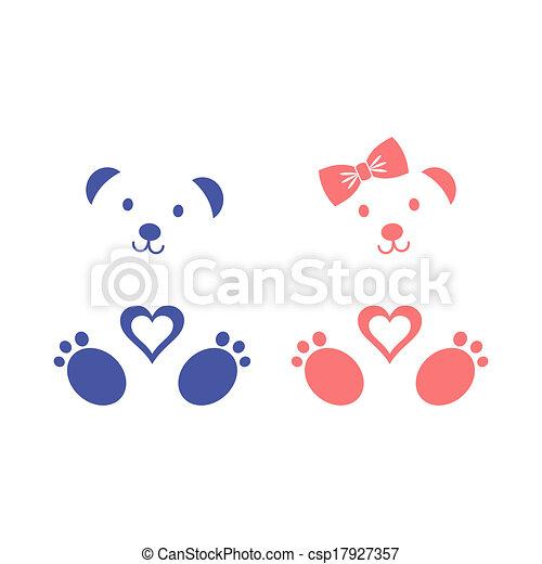 Teddy bears - csp17927357