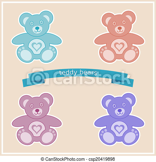 Teddy bears - csp20419898