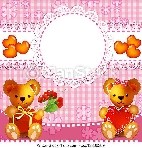Teddy bears - csp13306389