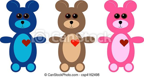 Teddy Bears - csp4162498