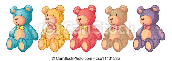 teddy bears - csp11431535
