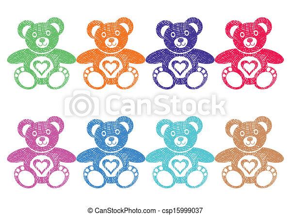 Teddy bears - csp15999037