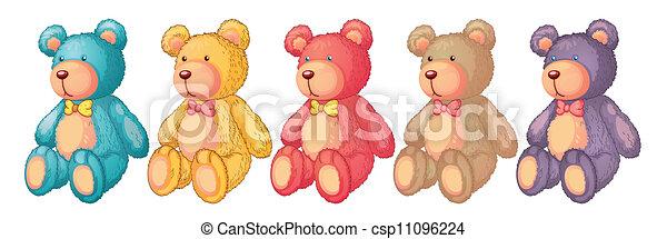 teddy bears - csp11096224