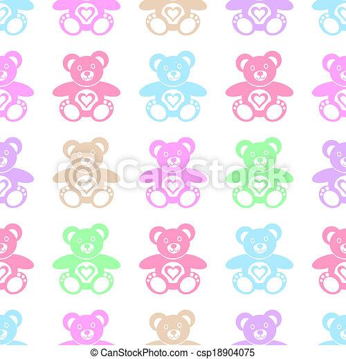 Teddy bears - csp18904075
