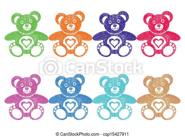 Teddy bears - csp15427911