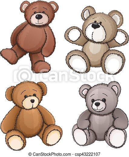 Teddy bears - csp43222107