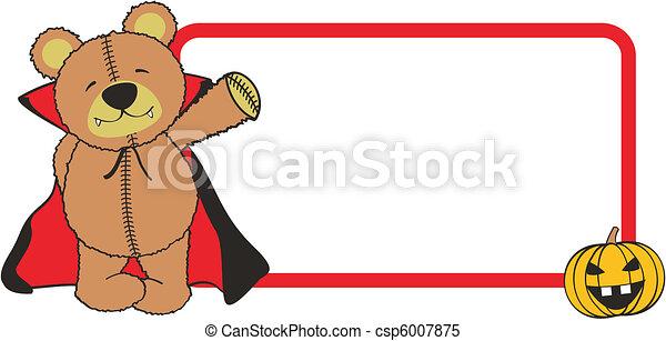 teddy dracula - csp6007875