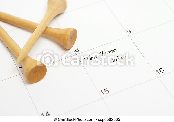 Tee Time Reminder - csp6582565