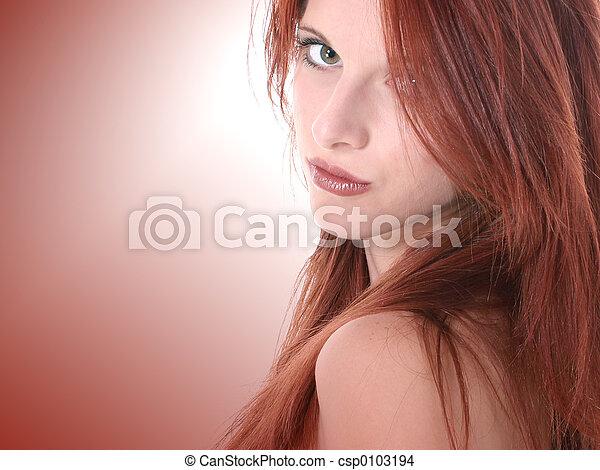 Teen Girl Beauty - csp0103194