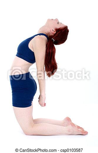 Teen Girl Fitness - csp0103587