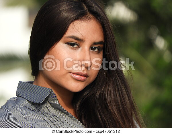 Teen Girl - csp47051312