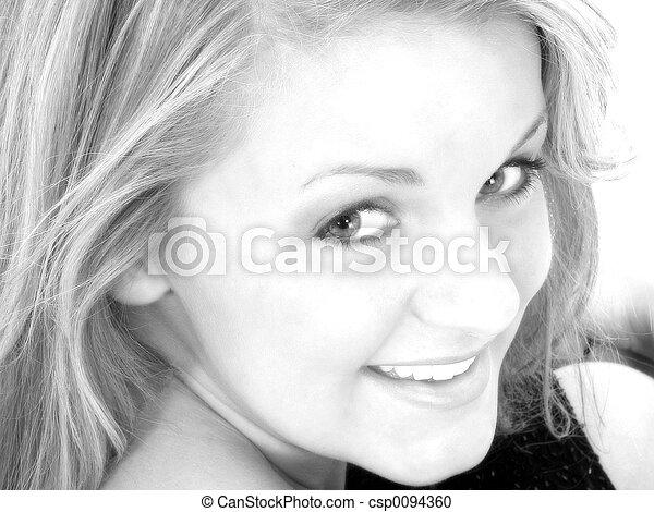 Teen Girl Portrait - csp0094360