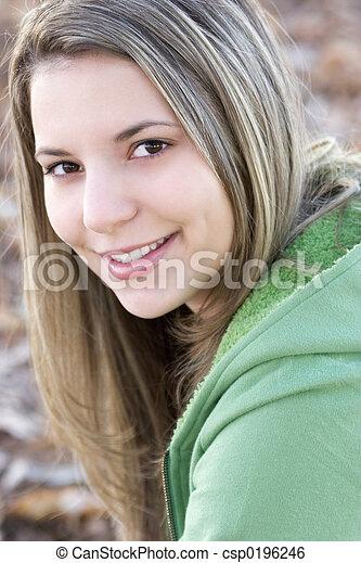 Teen Girl - csp0196246