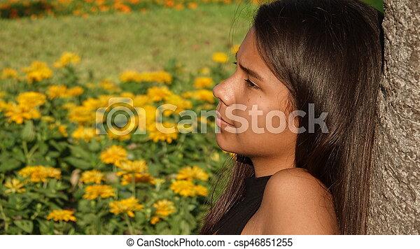 Teen Girl - csp46851255