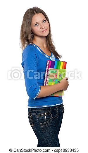 Teen girl - csp10933435
